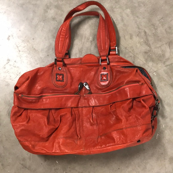 BCBGMaxAzria Handbags - Bcbg orange bag